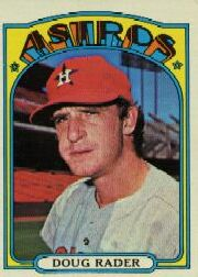 1972 Topps Baseball Cards      536     Doug Rader